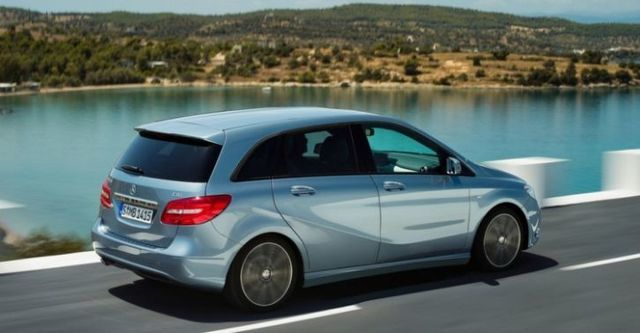 2014 M-Benz B-Class B180 BlueEFFICIENCY  第4張相片