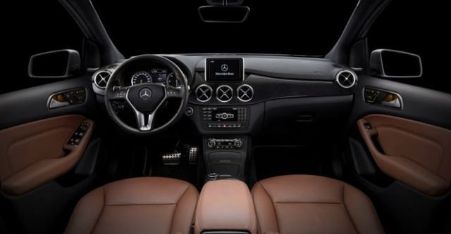 2014 M-Benz B-Class B180 BlueEFFICIENCY  第5張相片