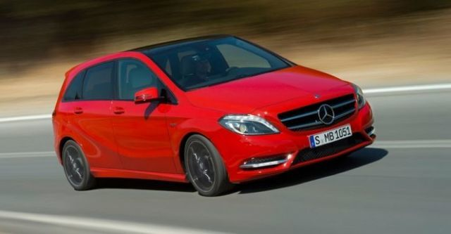 2014 M-Benz B-Class B200 BlueEFFICIENCY  第1張相片