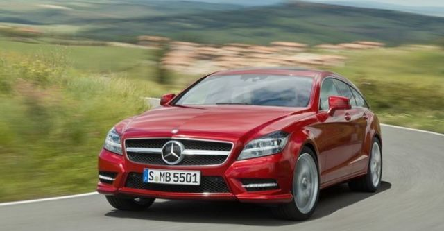 2014 M-Benz CLS Shooting Brake CLS350 BlueEFFICIENCY AMG  第5張相片