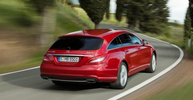 2014 M-Benz CLS Shooting Brake CLS350 BlueEFFICIENCY AMG  第7張相片