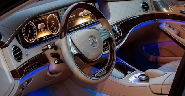 2014 M-Benz S-Class S400 Hybrid L  第9張相片