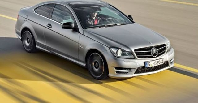 2013 M-Benz C-Class Coupe C250 Sport BlueEFFICIENCY  第1張相片