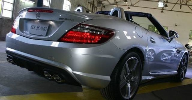 2013 M-Benz SLK-Class SLK55 AMG  第13張相片