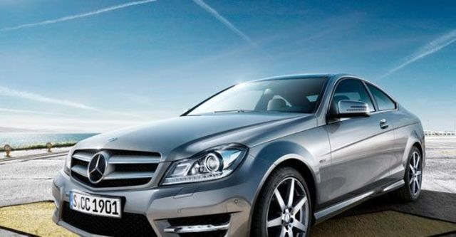 2012 M-Benz C-Class Coupe C250 BlueEFFICIENCY  第4張相片
