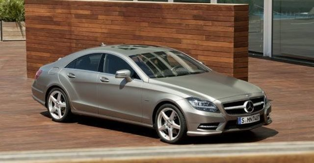 2012 M-Benz CLS-Class CLS350 BlueEFFICIENCY  第1張相片