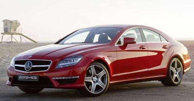 2012 M-Benz CLS-Class CLS63 AMG  第2張相片