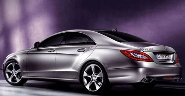 2011 M-Benz CLS-Class CLS350 BlueEFFICIENCY  第8張相片