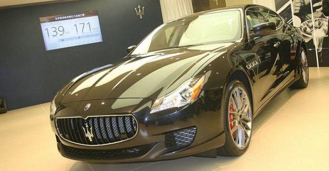 2014 Maserati Quattroporte GTS  第1張相片