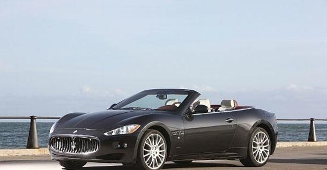 2013 Maserati GranCabrio 4.7  第5張相片