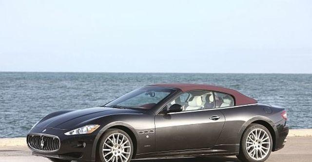 2013 Maserati GranCabrio 4.7  第6張相片