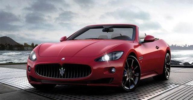 2012 Maserati GranCabrio Sport 4.7  第1張相片