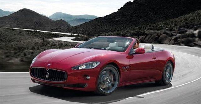 2012 Maserati GranCabrio Sport 4.7  第9張相片