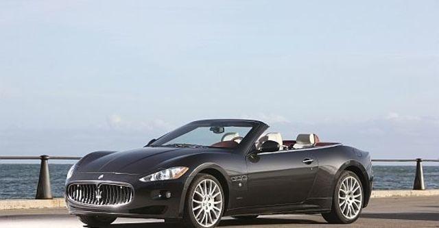 2011 Maserati GranCabrio 4.7  第5張相片