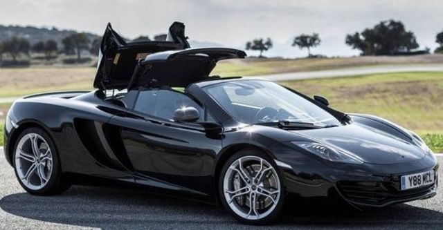2013 McLaren 12C Spider V8  第3張相片