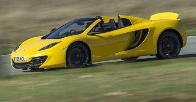 2013 McLaren 12C Spider V8  第5張相片