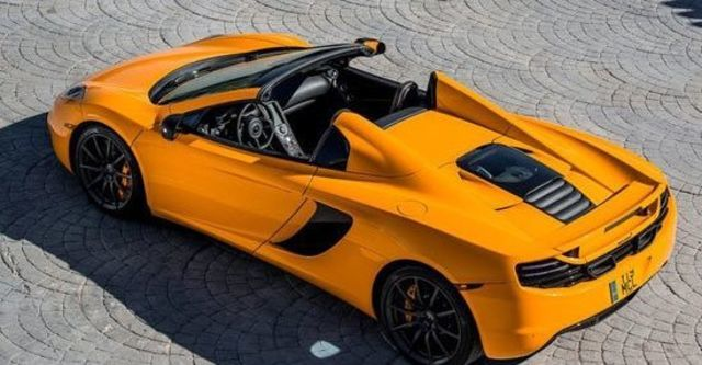 2013 McLaren 12C Spider V8  第7張相片