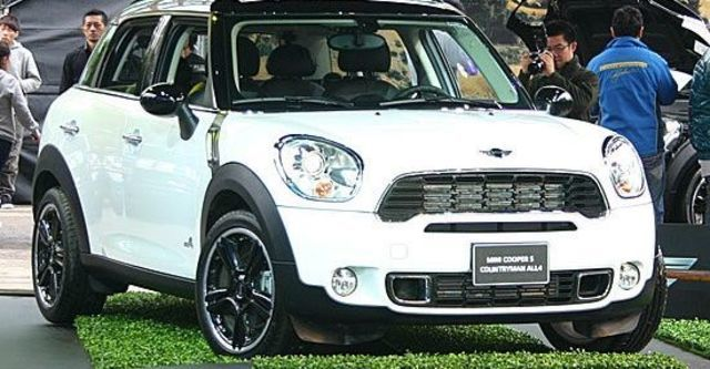 2012 Mini Countryman Cooper S ALL4  第1張相片