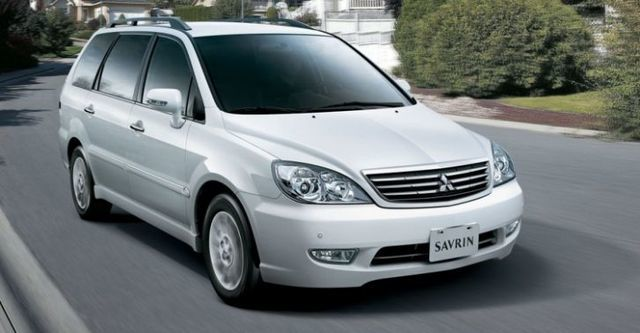 2014 Mitsubishi Savrin 2.4豪華型七人座  第1張相片