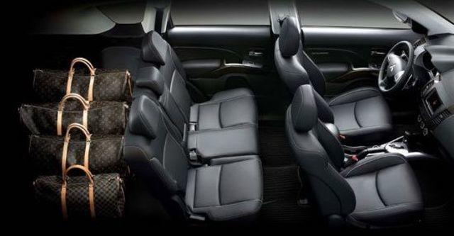 2012 Mitsubishi Outlander 2.4 2WD精緻型  第3張相片