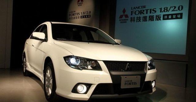 2010 Mitsubishi Lancer Fortis 1.8進階型  第2張相片