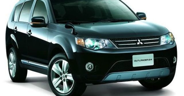 2010 Mitsubishi Outlander 2.4 2WD經典型  第1張相片