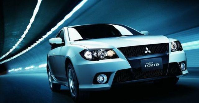 2009 Mitsubishi Lancer Fortis 1.8空力勁裝版  第12張相片