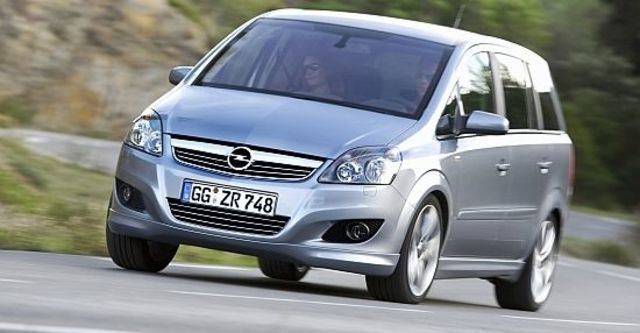 2010 Opel Zafira 1.8 Easytronic  第1張相片