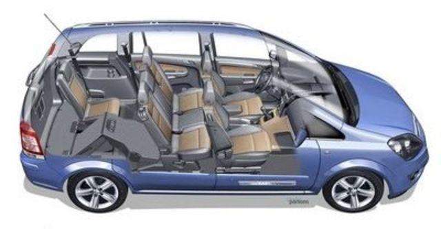2009 Opel Zafira 1.8 Super  第7張相片