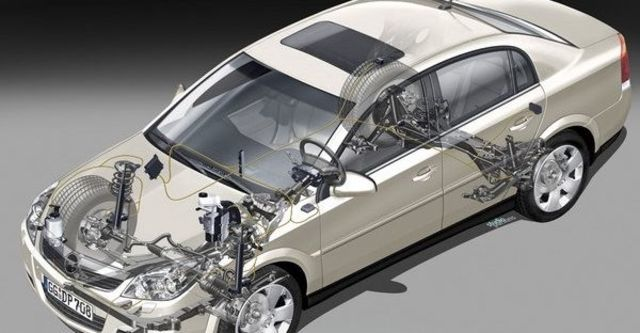 2008 Opel Vectra 2.8T四門  第5張相片
