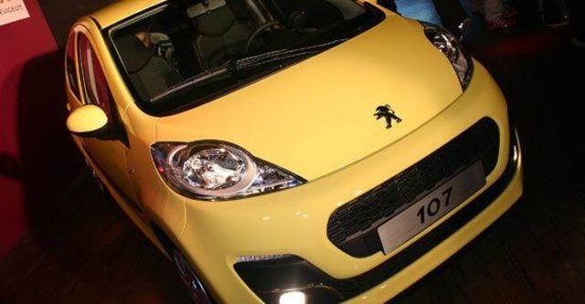 2013 Peugeot 107 羅浮經典版  第1張相片