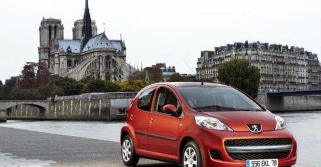 2012 Peugeot 107 左岸魅力版  第1張相片
