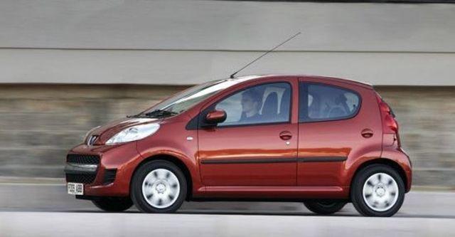 2012 Peugeot 107 羅浮經典版  第1張相片