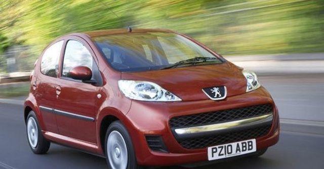 2012 Peugeot 107 花都時尚版  第1張相片