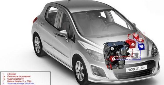 2012 Peugeot 308 1.6 e-HDi Design  第6張相片