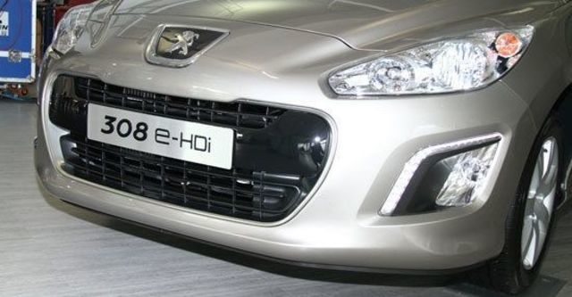 2012 Peugeot 308 1.6 e-HDi Navi  第3張相片