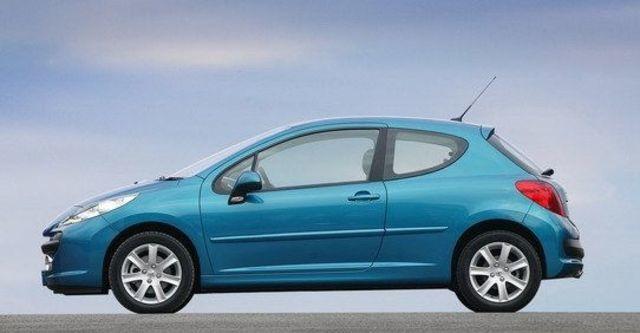2009 Peugeot 207 1.6 5D全景天窗版  第4張相片
