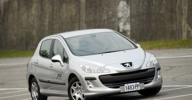 2009 Peugeot 308 1.6 HDi Leather Pack  第11張相片
