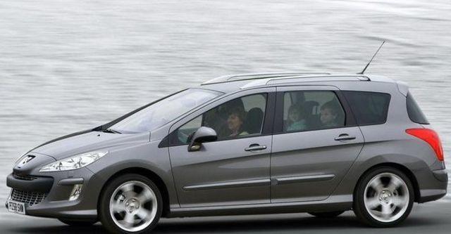2009 Peugeot 308 SW 2.0 HDi Premium Pack  第6張相片