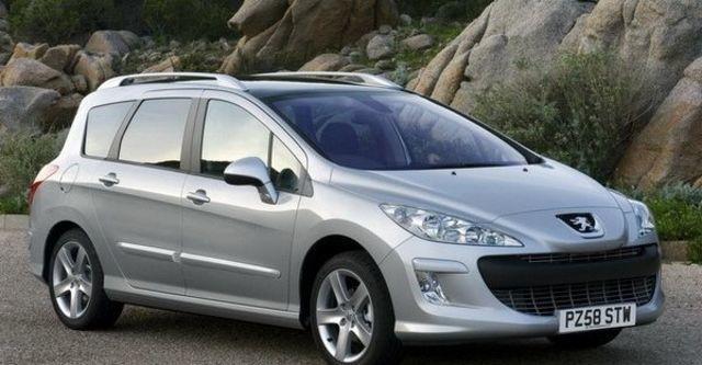 2009 Peugeot 308 SW 2.0 HDi Premium Pack  第9張相片
