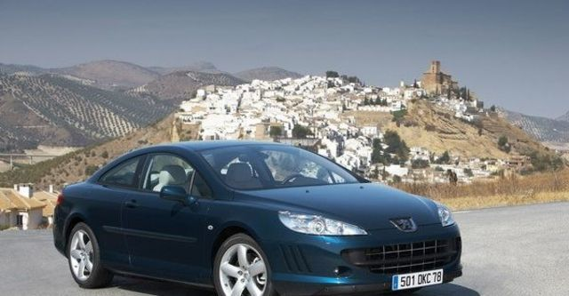 2009 Peugeot 407 Coupe 2.7 V6 HDi  第5張相片