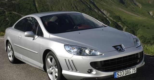 2009 Peugeot 407 Coupe 2.7 V6 HDi  第10張相片