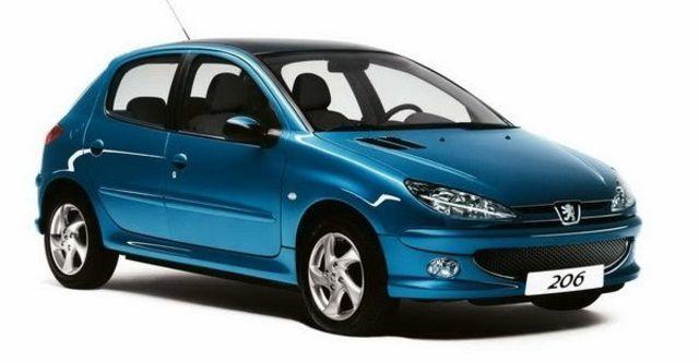 2008 Peugeot 206 1.6  第1張相片