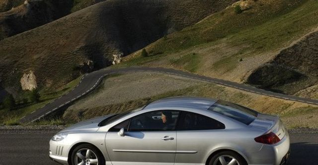 2008 Peugeot 407 Coupe 2.7 V6 HDi  第3張相片