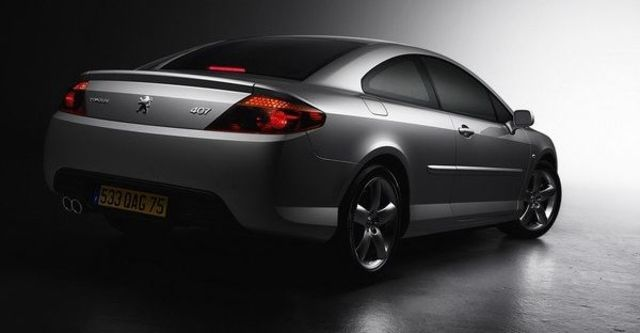 2008 Peugeot 407 Coupe 2.7 V6 HDi  第7張相片