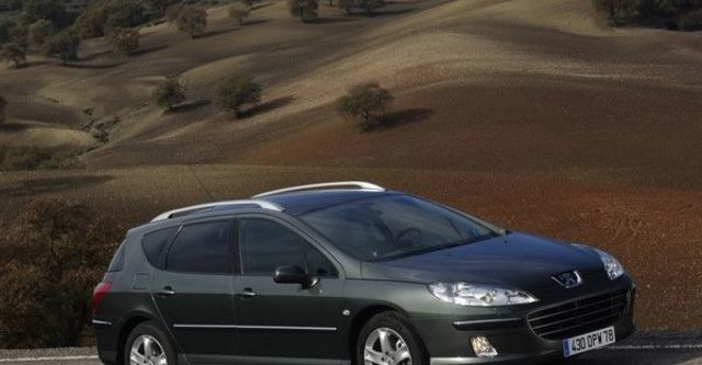 2008 Peugeot 407 SW 2.0 HDi  第9張相片
