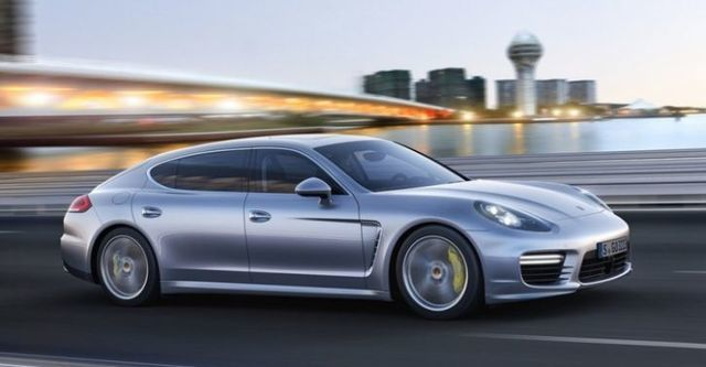 2015 Porsche Panamera Turbo Executive  第3張相片