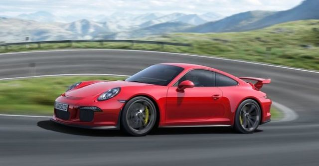 2014 Porsche 911 GT3 3.8  第3張相片