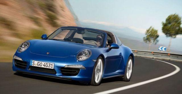2014 Porsche 911 Targa 4  第1張相片