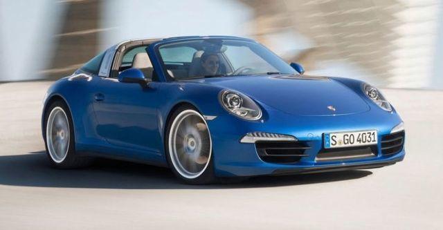 2014 Porsche 911 Targa 4  第6張相片